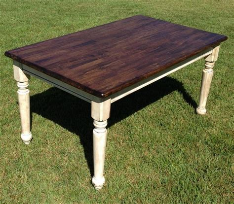 farm table refinished refinishing kitchen table