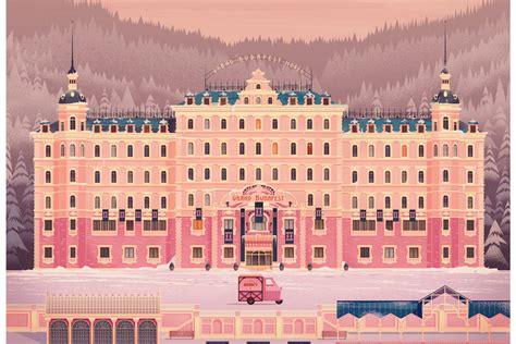 grand budapest hotel  james gilleard design