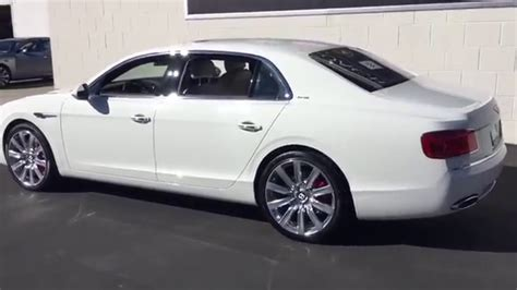 white bentley flying spur white bentley flying spur youtube