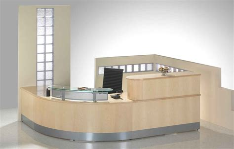 bureau reception ergonomic reception area interior design for professional