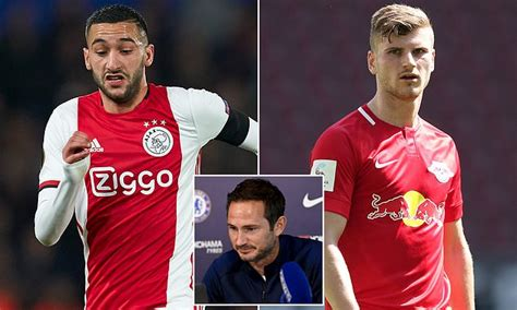 Chelsea boss Frank Lampard reveals Timo Werner and Hakim ...