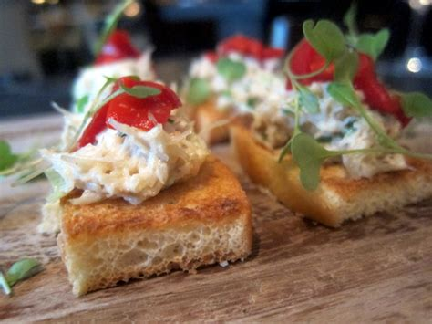 crab canapes dine in dublin is back 25th february 3rd march