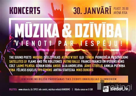 Latvijā populāri mūziķi un Ziedot.lv rīko koncertu