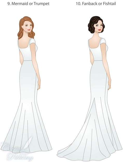 wedding dress skirt types shapes overlays  textures