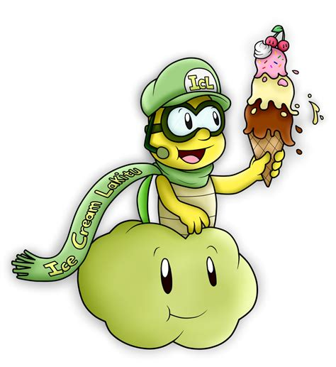 AT with IceCreamLink: The Ice Cream and the Lakitu by ...