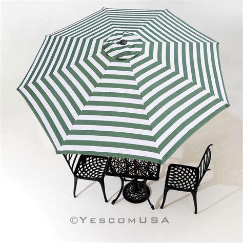 8ft 8 rib patio umbrella cover canopy replacement top outdoor yard garden desk ebay