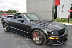 Used 2009 Ford Mustang Roush Stage 3 Blackjack Convertible GT Premium For Sale (Special Pricing ...