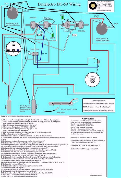 Danelectro Wiring Diagram Library