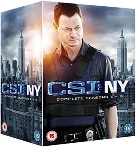 Badmöbel Set New York by Csi New York The Complete Seasons 1 9 Dvd Zavvi