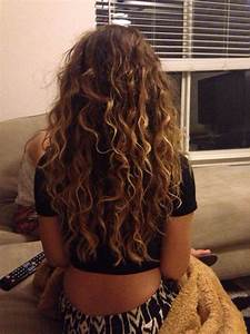 * Hair * Curly * Natural * Highlights * Brunette * Long ...