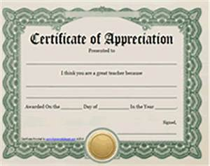 Printable Teachers Appreciation Week Certificates Awards ...