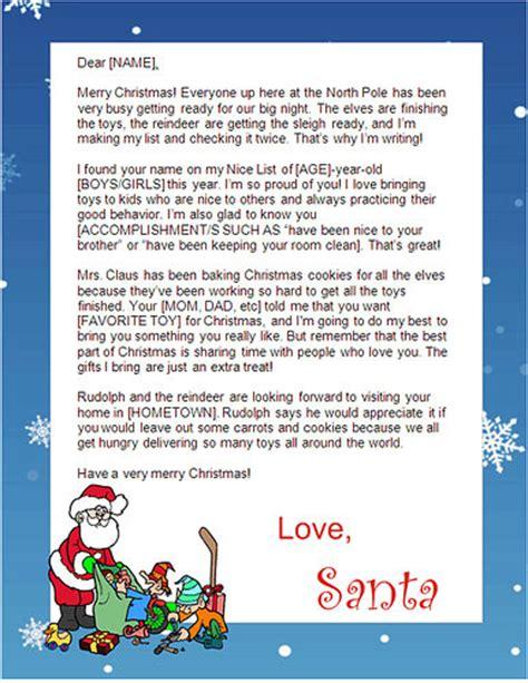 free letters from santa free santa letters net free printable santa letters in