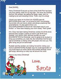 free santa lettersnet free printable santa letters in With a letter from santa claus