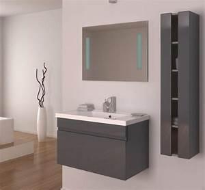 meuble de salle de bain pas cher de decoration murale de With meuble salle de bain schmidt