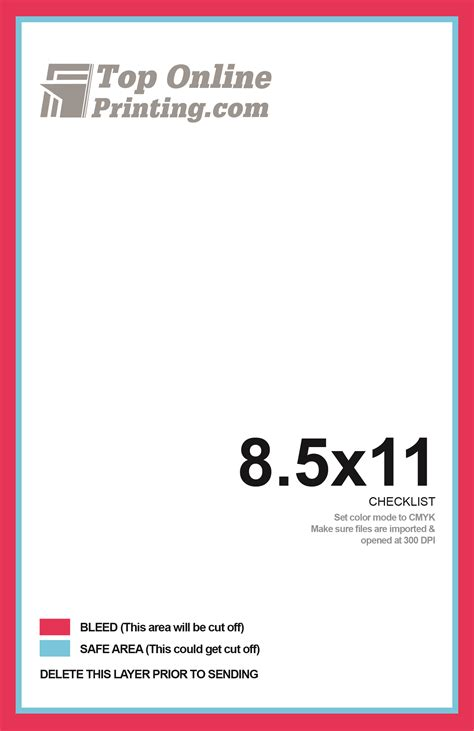 8 5x11 Brochure Template 8 5x11 Trifold Brochure Printing