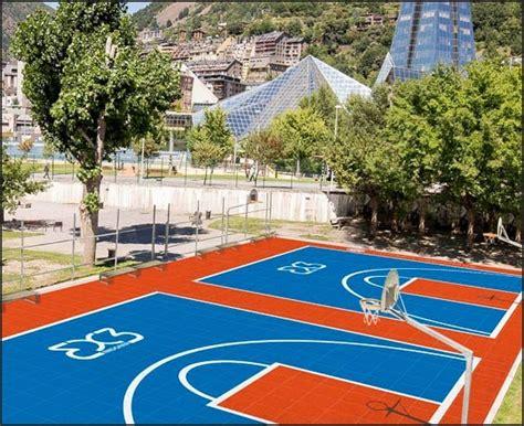 3 autres terrains devraient être très prochainement aménagés. Euro de basket 3x3