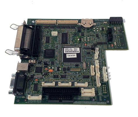 zebra   main logic board  xi iii
