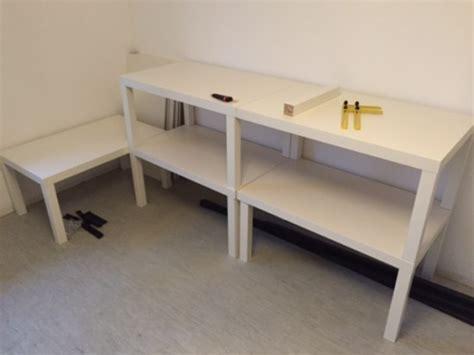 grand bureau ikea une grande cage à cochon d 39 inde avec 5 tables lack