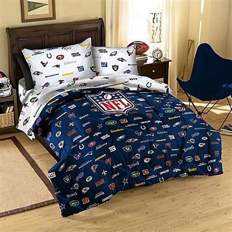 NFL All League Twin/Full Comforter   BedBathandBeyond.com