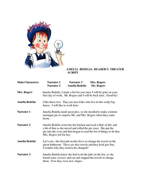 worksheets ameleia bedelia amelia bedelia reader s