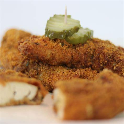 brined chicken tenders pickle rinds pork