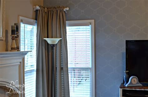 corner window curtain rod curtains and diy curtain rods plum doodles
