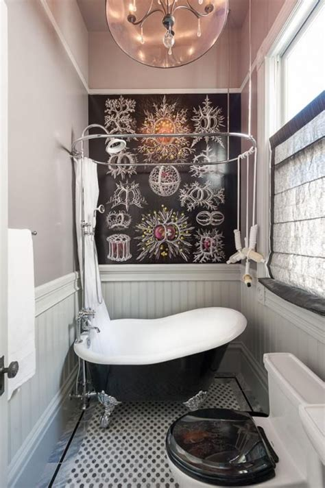 black  white victorian bathroom tiles ideas