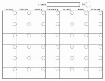 Weekly Blank Printable Calendars Calendar Activity Via