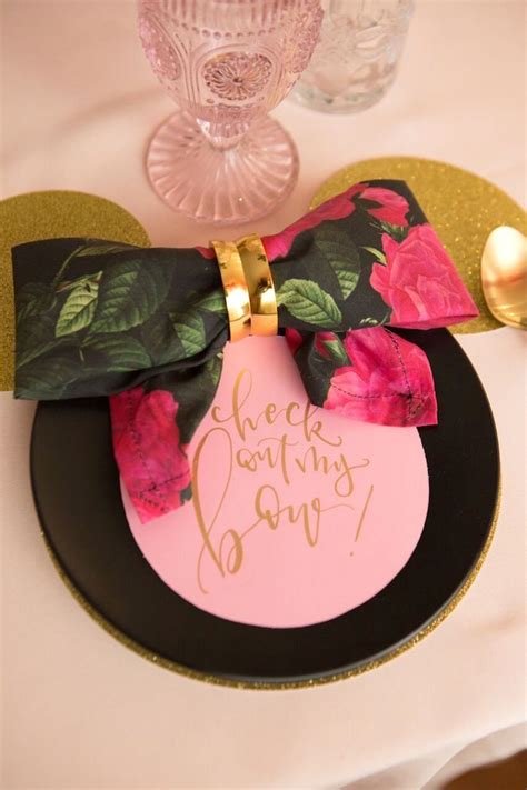 karas party ideas floral minnie mouse birthday party