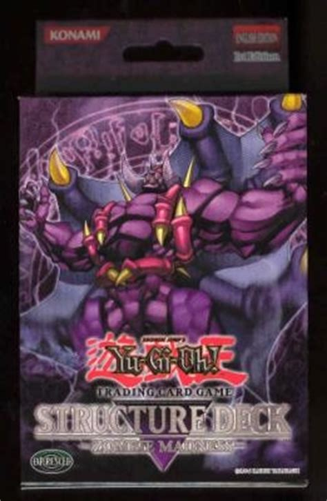 yu gi oh zombie madness 1st edition structure deck da