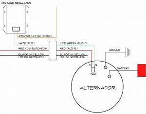 Delco 3 Wire Alternator Wiring Diagram Collection