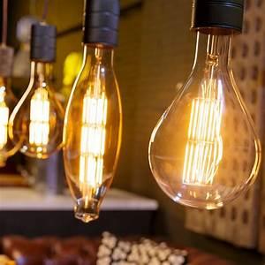 Suspension Ampoule Vintage : suspension e40 brun pour ampoules g antes led vintage ~ Teatrodelosmanantiales.com Idées de Décoration