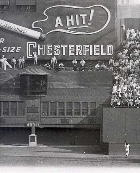 Willie Mays Catch Polo Grounds