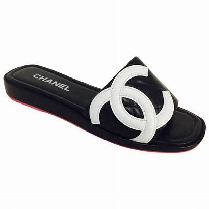 Chanel Slides Quilted Shoes Clothing Cambon Ligne