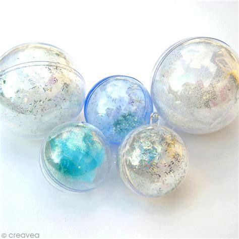 boule de decoration transparente petites boules de no l