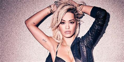 Rita Ora Strips Off To Model Her Underwear Range For