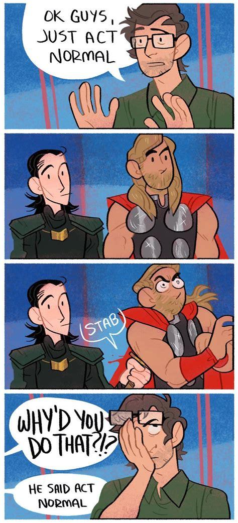 Thor Ragnarok Time To Get New Friends Superheros