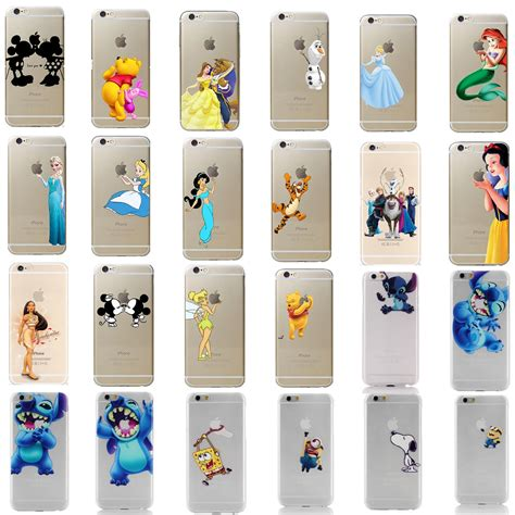Motorcycle handlebar iphone 6 & iphone 7 case for use w ram mount. Kids Birthday Present Disney All Characters Clear Cover Case For Iphone 7 8 Plus   Disney phone ...