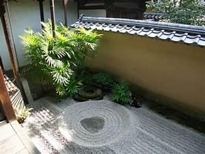 le mini jardin japonais serenite et style exotique With jardin japonais d interieur