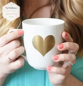 Tasse Selbst Bemalen : tasse selbst bemalen dekoking diy bastelideen dekoideen zeichnen lernen ~ Watch28wear.com Haus und Dekorationen