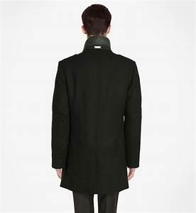 Manteau Homme Galerie Lafayette : manteau droit zipp col montant amovible azzaro en noir pour homme galeries lafayette ~ Melissatoandfro.com Idées de Décoration
