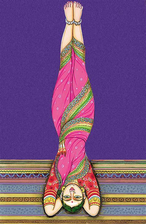 art  hatha yoga pose