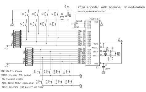 Encoder Signal Processing Circuit Diagram