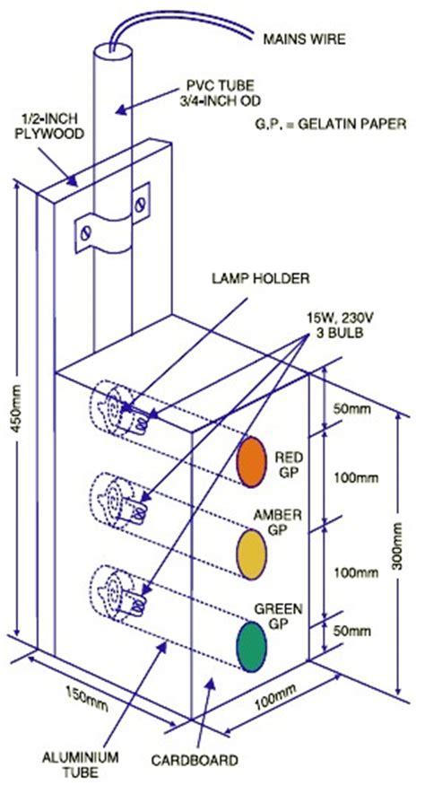 Simple Trafic Light Container Schematic Design