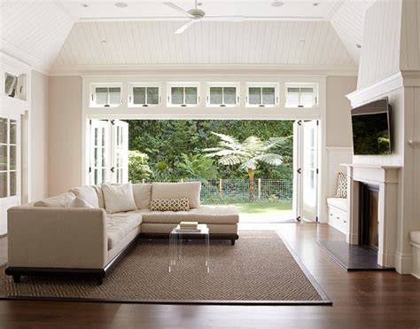 Small Living Room With Patio Doors Ideas by Small Cottage With Neutral Interiors Home Bunch Interior