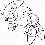 Sonic Coloring Pages Characters Hedgehog Printable sketch template