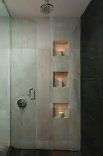 badezimmer dusche ideen nische als ablage in der dusche wohnung