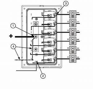 basic wiring of boat with blue sea systems microskiff With wiring switch panel