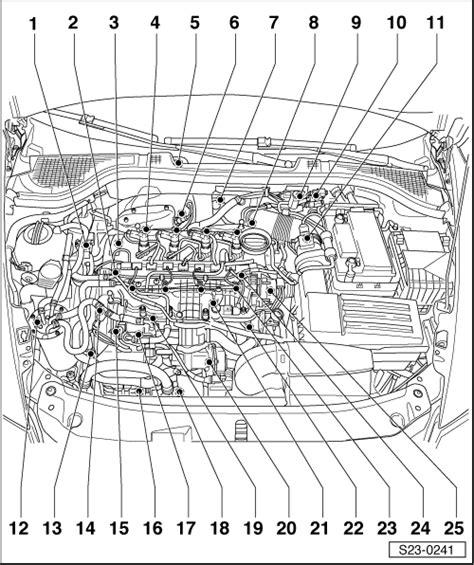 Skoda Fuel Pressure Diagram by Skoda Workshop Manuals Gt Yeti Gt Power Unit Gt 1 6 55 66