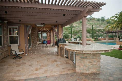 backyard outdoor kitchen backyard patios hardscape gallery outdoor design
